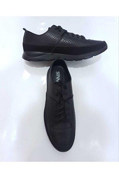 SÜVARİ Erkek Siyah Casual Yazlık Ayakkabı
