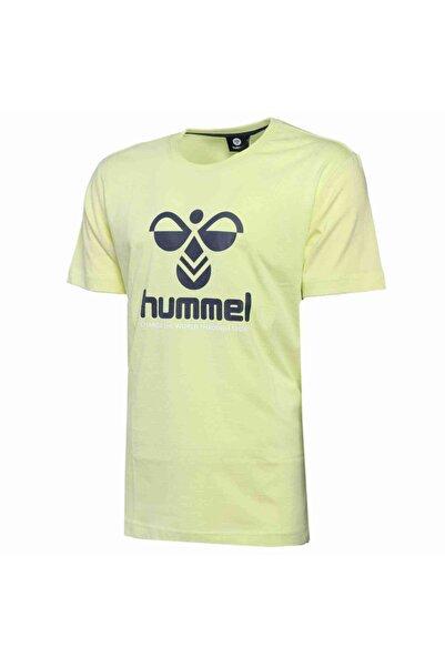HUMMEL Erkek Sarı Centıl Kısa Kollu Tişört