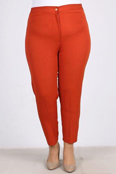 eslamood Kadın  Büyük Beden Klasik Bilek Pantolon 9103