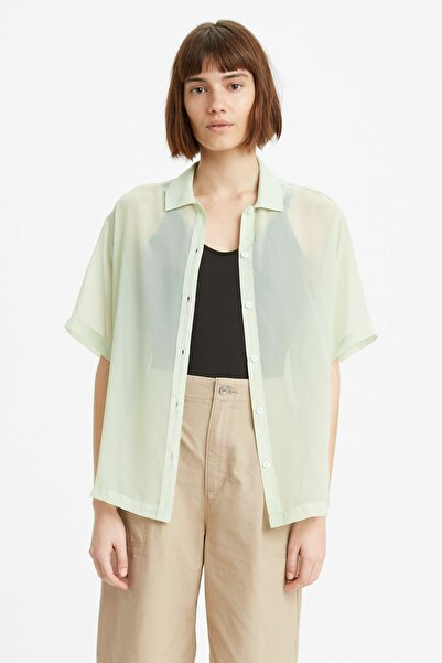 Levi's Aster Shirt Bok Choy Yeşil Kadın Gömlek