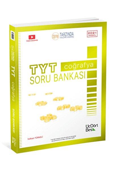 Üç Dört Beş Yayıncılık 345 Yayınları Tyt Coğrafya Soru Bankası 2021