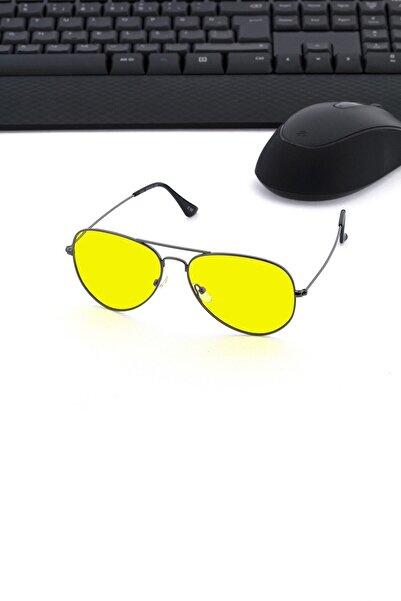 Moov Unisex Sarı Profesyonel Bilgisayar Mavi Işık ve Sürüş Gözlüğü