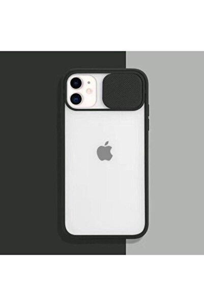 Telehome Iphone 11 Uyumlu Siyah Kamera Lens Koruma Kapaklı Kılıf