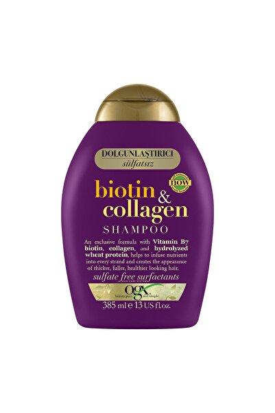 OGX Dolgunlaştırıcı Biotin & Kolajen Sülfatsız Şampuan 385 ml