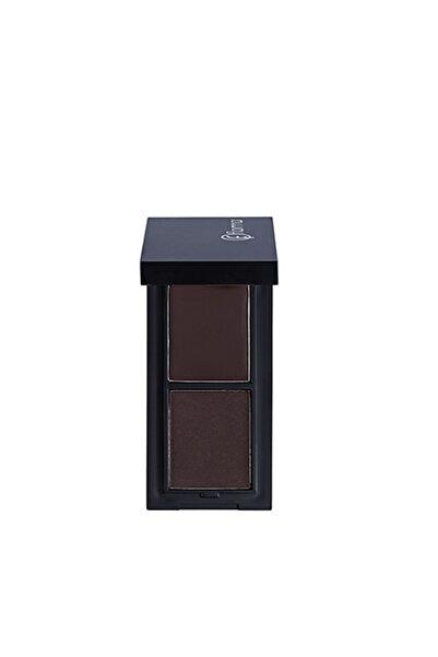 Flormar Kaş Kiti - Eyebrow Design Kit Dark 8690604450459