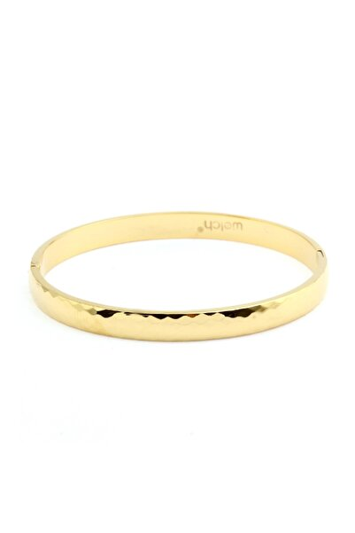 Welch Kadın Gold Açılabilir Bilezik Çelik Bileklik 6538-CC371