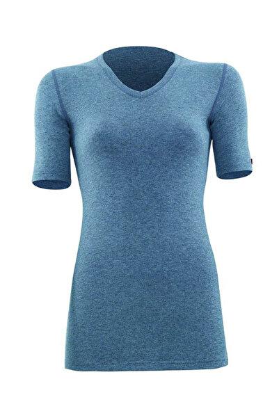 Blackspade Kadın Gri Melanj 2. Seviye Termal  T-Shirt 1263