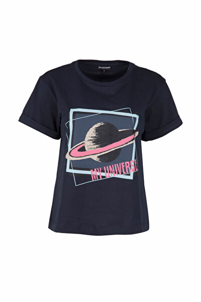 Emporio Armani Lacivert Kadın T-Shirt 3Z2T67 2J06Z