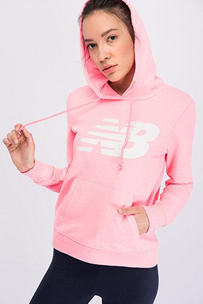 New Balance Kadın Sweatshirt - V-WTH804-PNK