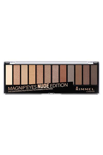 RIMMEL LONDON Far Paleti - Magnif'Eyes Eyeshadow Palette 12'li Nude Edition 3614224525118