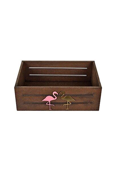 Utyawood Flamingo Küçük Ahşap Kutu