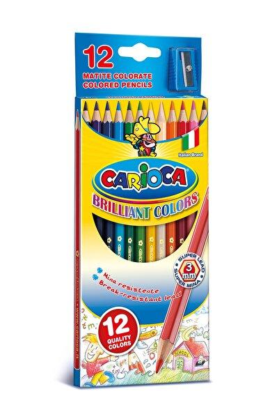 CARIOCA Carioca Kuru Boya Kalemi-12 Ad+1 Kalemtraş /