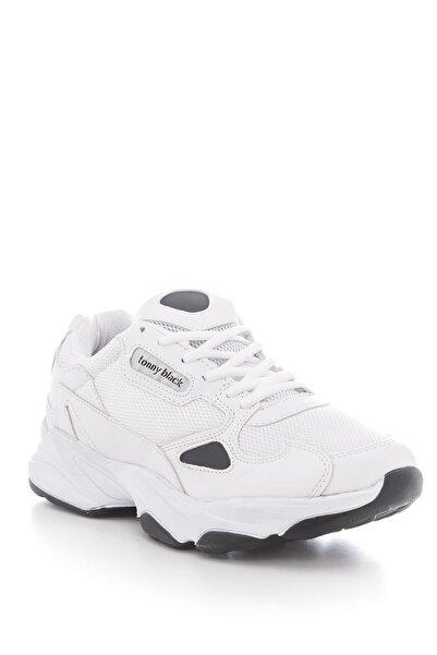 Tonny Black Unısex Spor Ayakkabı Beyaz Siyah Zhr