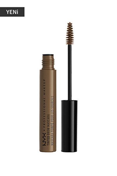 NYX Professional Makeup Kaş Maskarası - Tinted Brow Mascara Brunette 800897832810