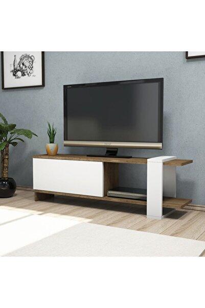 Puzzle Design Puzzle Desıgn Beyaz Ceviz Gaye Tv Ünitesi