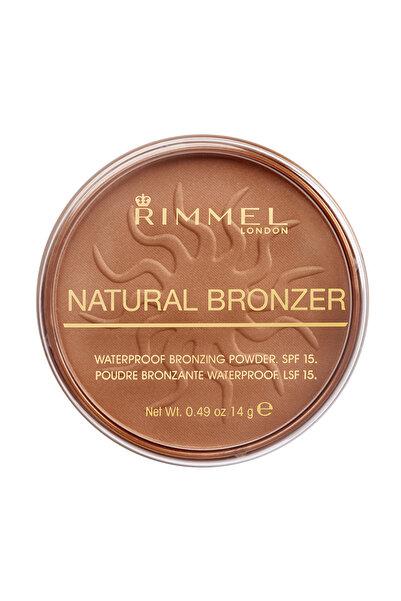 RIMMEL LONDON Bronzlaştırıcı Pudra - Natural Bronzer Sun Bronze 5012874101627