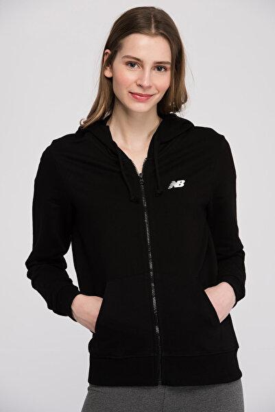 New Balance Kadın Sweatshirt - V-WTJ806-BK