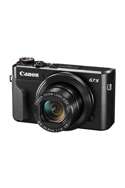 Canon Powershot G7 X Mark II Siyah Fotoğraf Makinesi (Canon Eurasia Garantili)