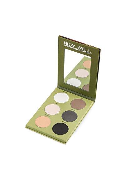 New Well 6'lı Göz Farı - Handmade Eyeshadow Hanna 8680923312811