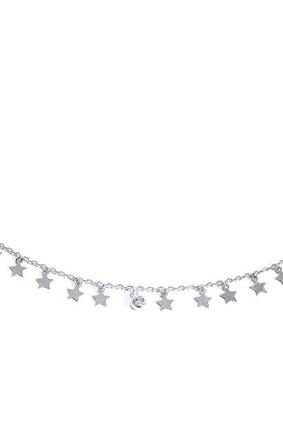BENDİS Kadın Gümüş Damlacık Yıldız Kolye C506