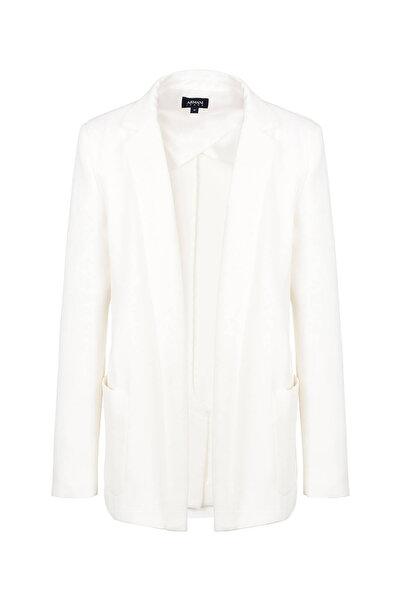 Armani Jeans Kadın Beyaz Ceket