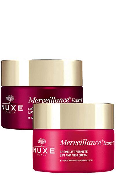 Nuxe Merveillance Expert Nuit Gece Kremi 50 ml + Merveillance Expert Gündüz Kremi 50 ml Set 1212000000027