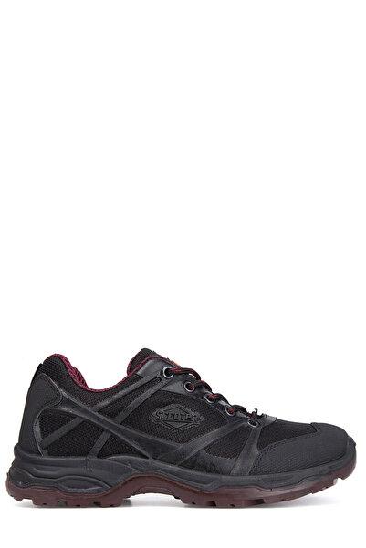 Scooter Su Geçirmez Kadın Siyah-Bordo Sneaker - G5226T