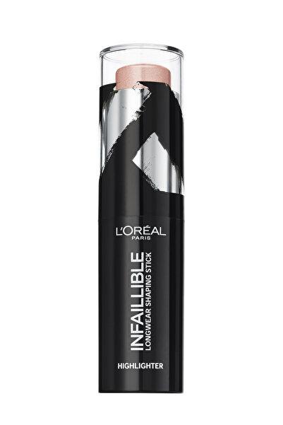 L'Oreal Paris Stick Aydınlatıcı - Infaillible Shaping Stick 501 Oh my Jewels 3600523533480