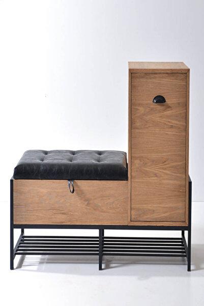 Ahşap Sokağı Mia Bench Box 120x40x90 cm