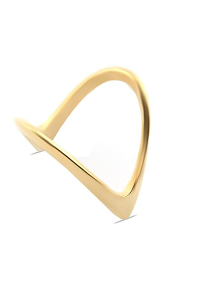 Welch Kadın Gold Şövalye Çelik Yüzük 8700-327