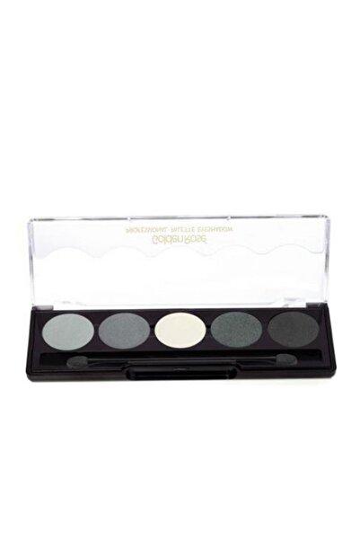 Golden Rose 5'li Göz Farı - Professional Palette Eyeshadow No: 104 Grey Line 8691190071042