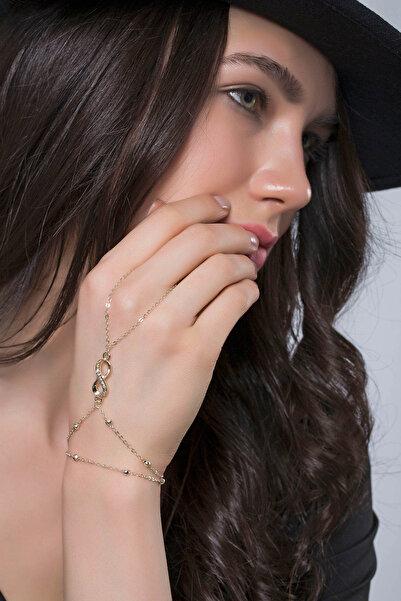 Modex Kadın Altın Kaplama Sonsuzluk Şahmeran Uvsh9981