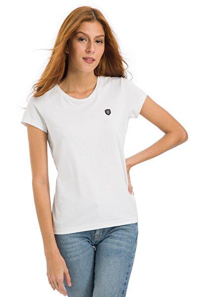Galvanni Kadın Beyaz T-Shirt - Glvsw11250161