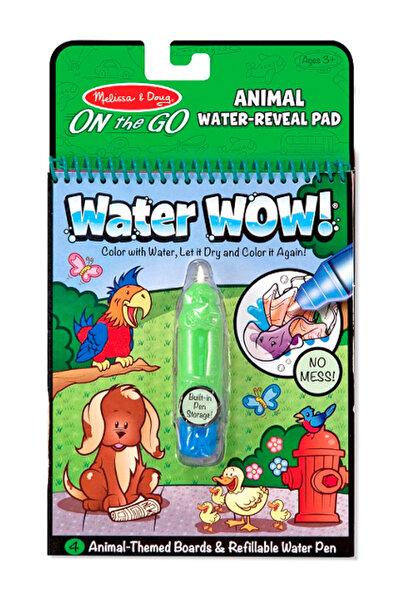 Melissa & Doug Melissa&Doug Water Wow! Su İle Boyama Kitabı - Hayvanlar /