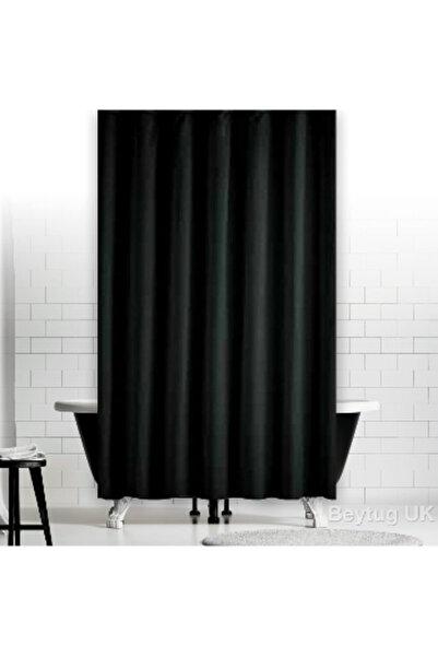 Jackline Banyo Duş Perdesi 0010 Siyah Çift Kanat 2X120x200