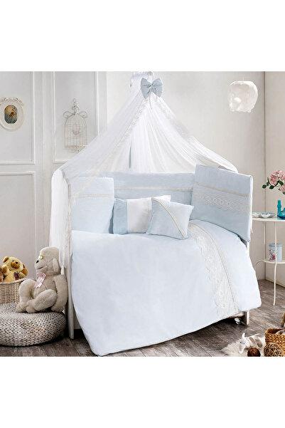 Pierre Cardin Noble Blue Bebek Beşik Uyku Seti 75X130 /