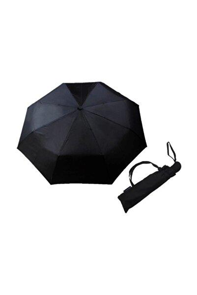 Zeus&Co. Siyah Tam Otomatik Açılır Kapanı Rüzgarda Kırılmayan Şemsiye