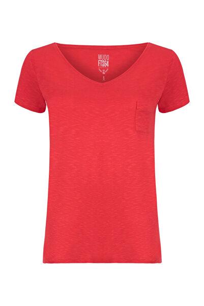 Mudo Kadın Nar Çiçeği T-Shirt 1191321