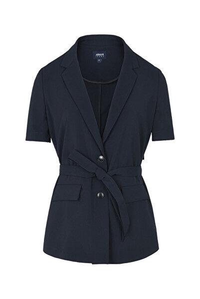 Armani Jeans Kadın Koyu Lacivert Ceket 3Y5G045N16Z