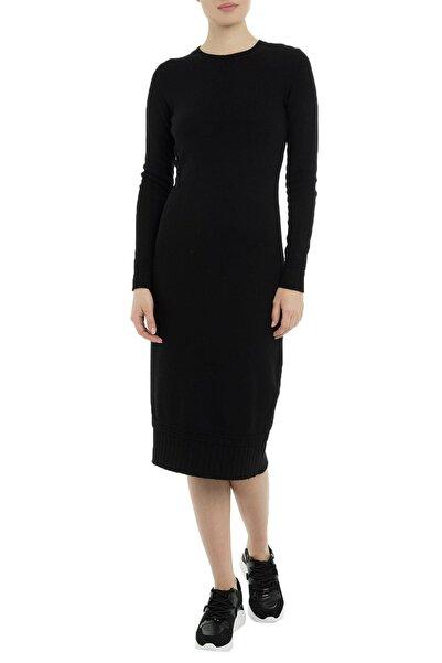 Armani Jeans Kadın Siyah Günlük Elbise
