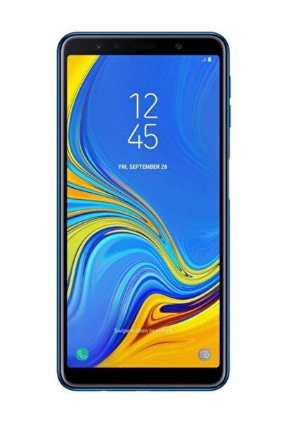 Samsung A7 2018 64GB Mavi Cep Telefonu İthalatçı Firma Garantili