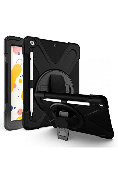 PHONACS Apple Ipad Air 1-2 A1475-a1476-a1566 360 Standlı Ve Askılı Tablet Siyah