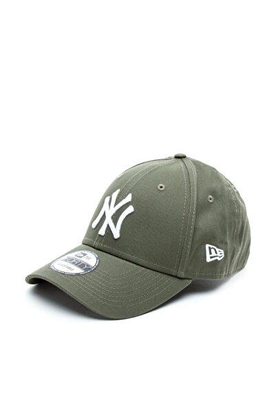 NEW ERA Unisex New York Yankees Essential 9Forty Yeşil Şapka 80636010-S