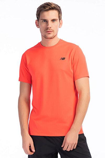 New Balance Erkek T-Shirt - MT83047 - MT83047-FLM