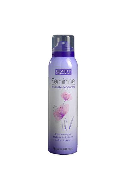 BEAUTY FORMULAS Intim Deodorant 150 ml 5012251008297