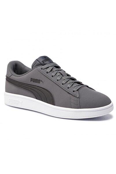Puma Erkek Gri Bağcıklı Sneaker