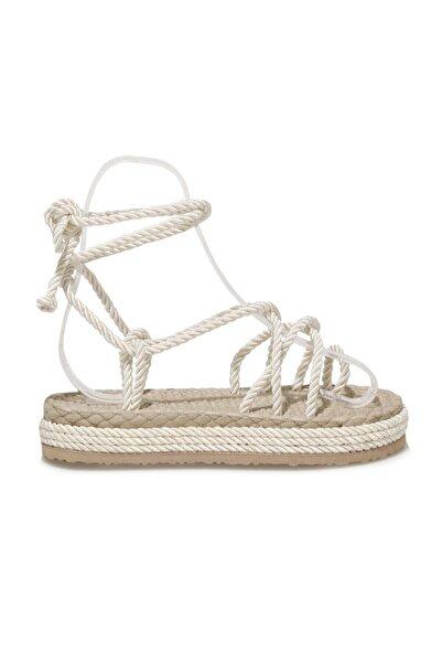 Butigo NAVİ 1FX Beyaz Kadın Sandalet 101044134