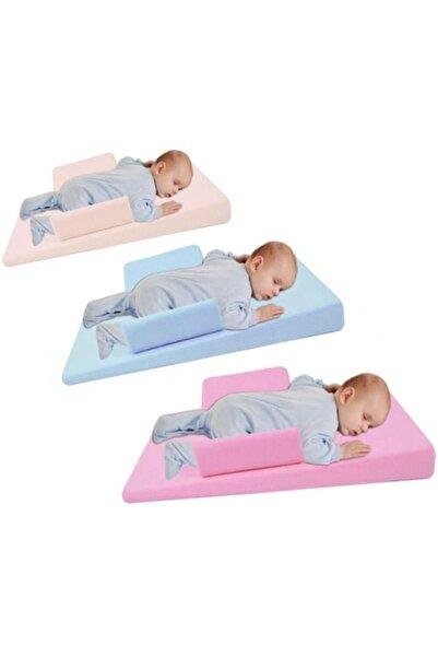 Sevi Bebe Çok Fonksiyonlu Yatış Yastığı Reflü Yatağı (kiraz Çekirdekli) Art-9021 Mavi