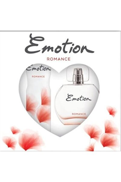 Emotion Romance Edt 50 ml Kadin Parfüm Ve150 ml Deodorant  Set