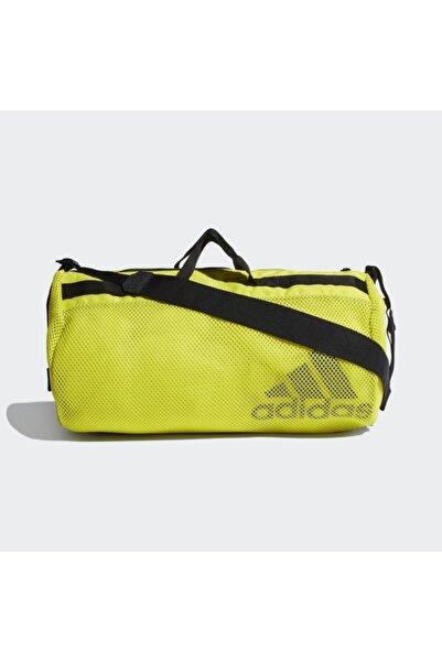adidas Sarı Sports Mesh Duffel Çanta Gp4047